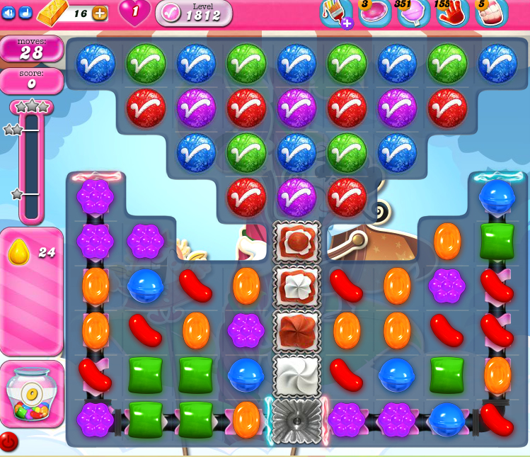 Candy Crush Saga 1812