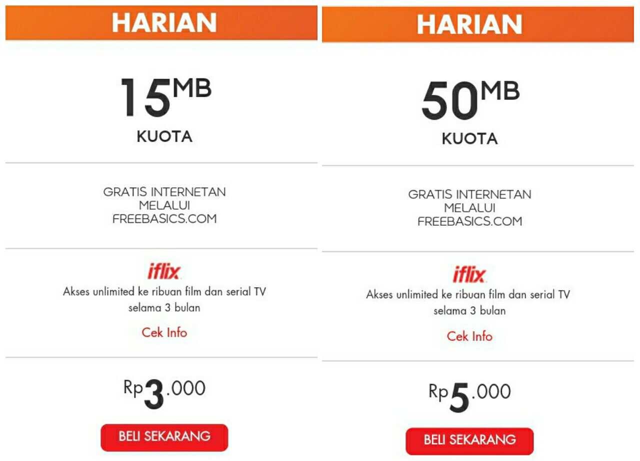 Harga Paket Internet Im3 Indosat Terbaru Dan Termurah 2017 Techomelto Kuota Ada Pelengkap Freedom Combo Plus