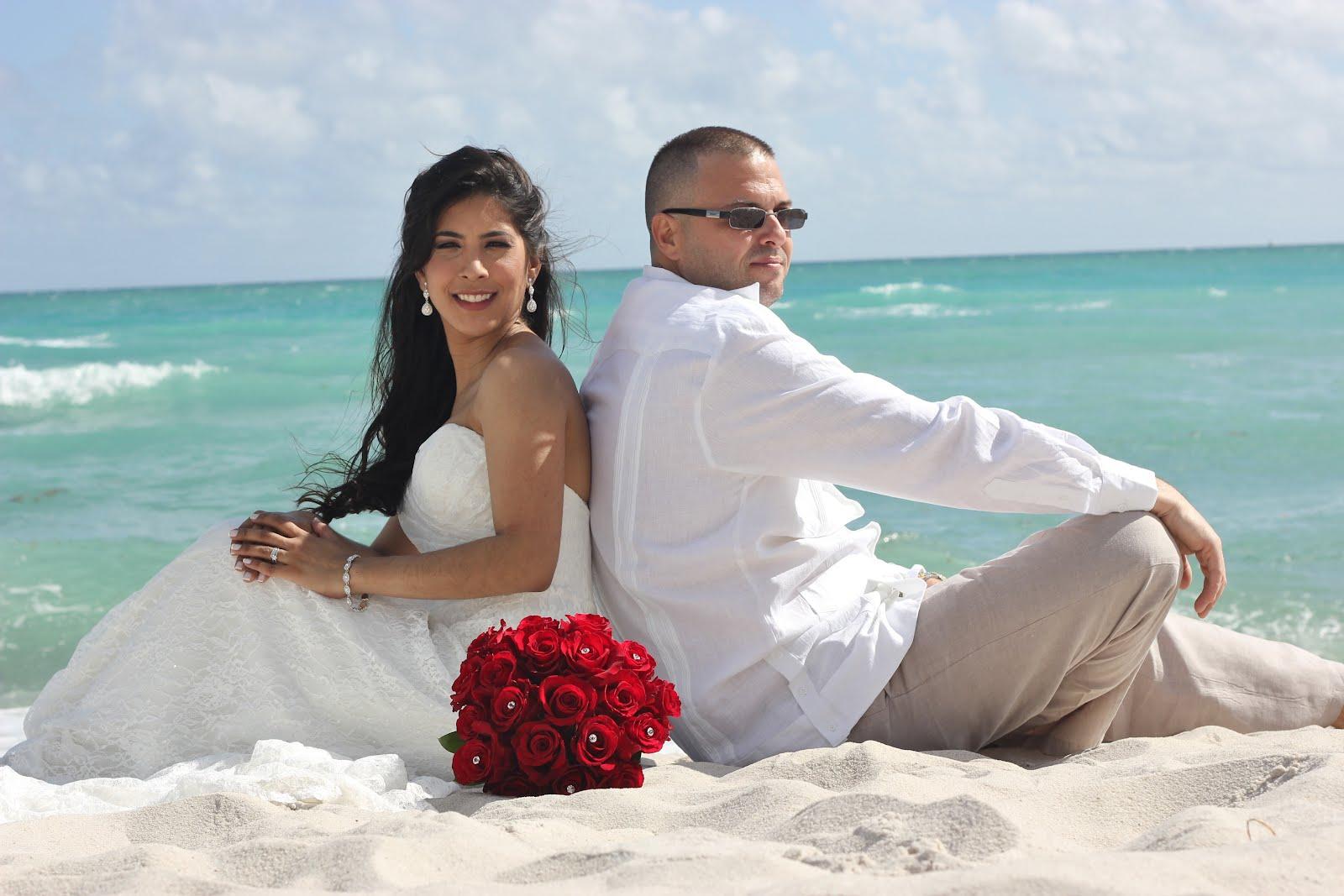 Affordable Beach Weddings! 305-793-4387: Diana & Mario