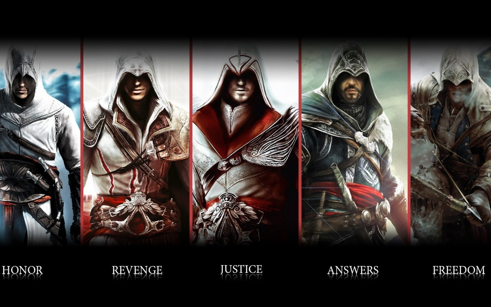 Theticgaming Top 5 Assassin S Creed Characters