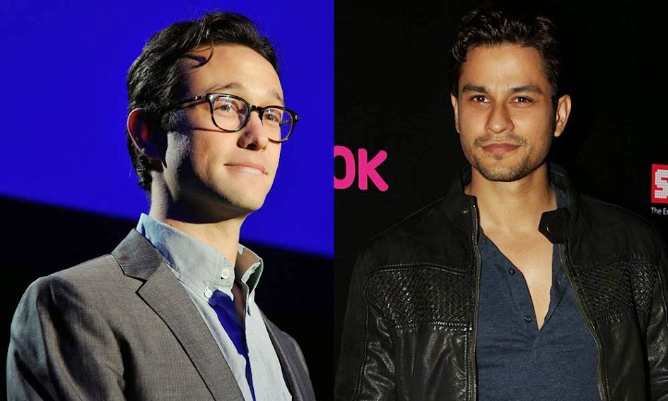 Joseph Gordon Levitt and Kunal Khemu