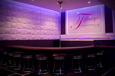 Interior of the prestigious Tiffany's adult club