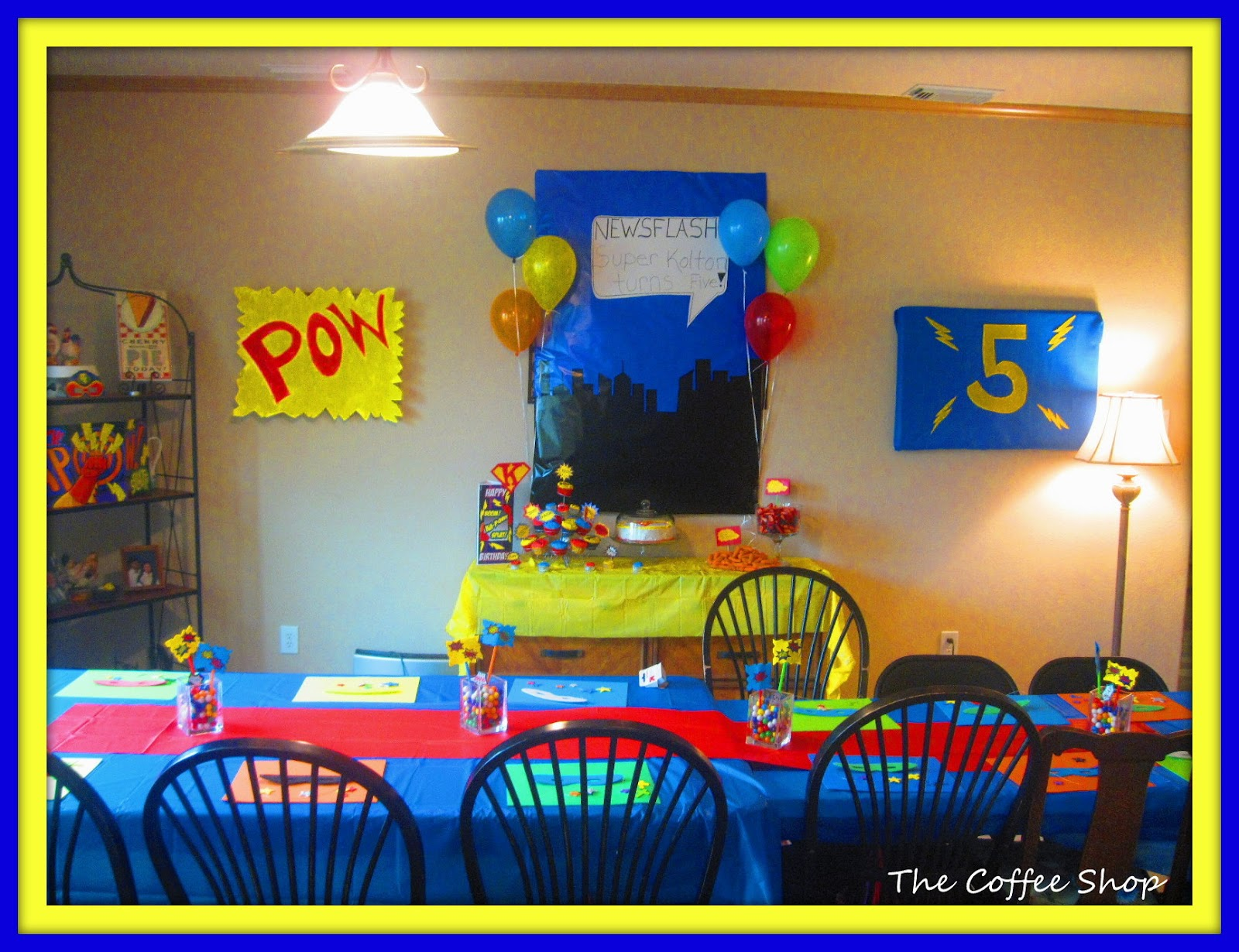 Tgf Decoration The Coffee Shop Happy Monday And A Super Party