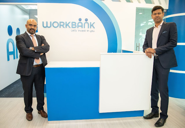 Workbank Country Head Reggie Fernandes (left) and Workbank Co-Founder and Chairman Jaison Francis at their newly inaugurated headquarters in the heart of BGC with high hopes in providing more employment solutions to the Filipino community.