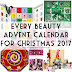 Every Beauty Advent Calendar For Christmas 2017