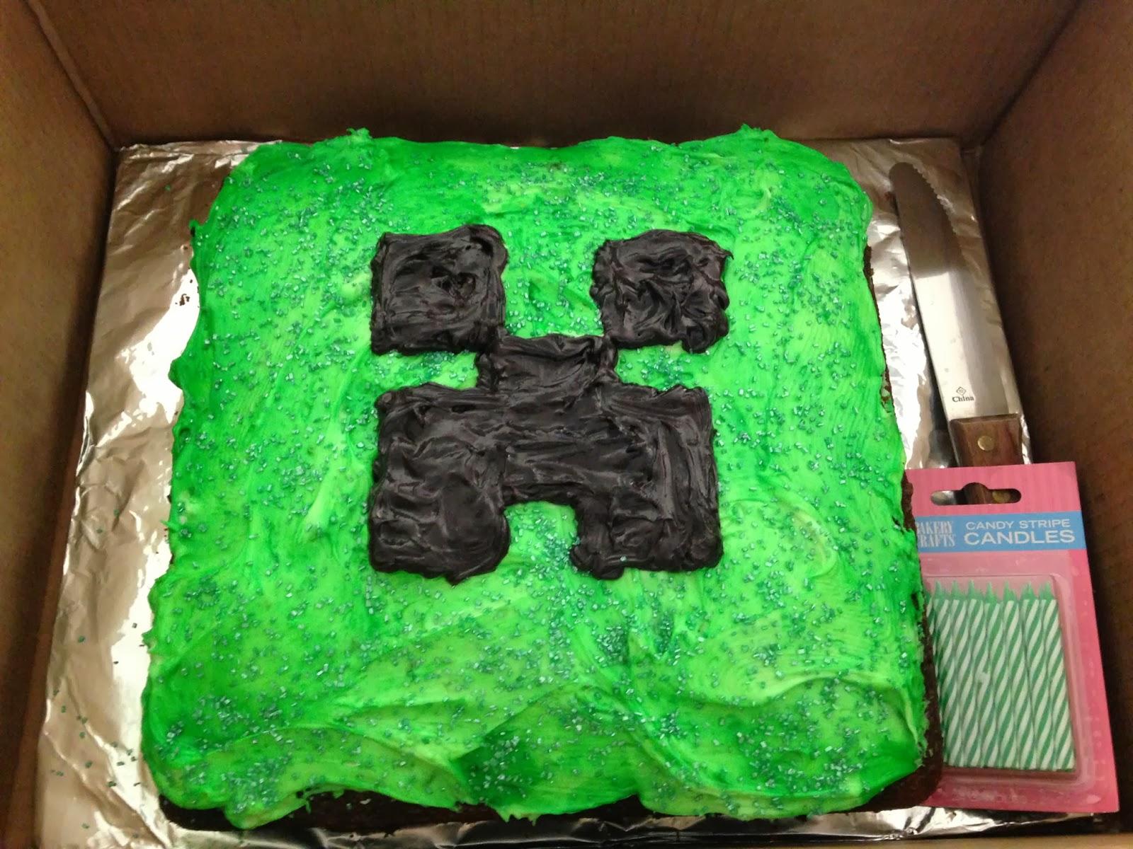 Blog The Easy Peasy Minecraft Birthday Party