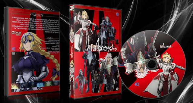 Fate/Apocrypha | Cover DVD | MEGA |