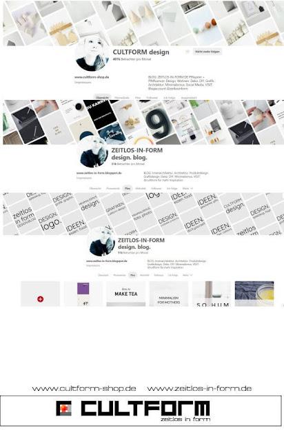 Pinteresttipp: Die neue Profilansicht von Pinterest und wie du sie richtig fürs Branding einsetzt.