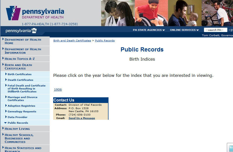My Ancestors And Me Pennsylvania Certificates Online Tuesdays Tip