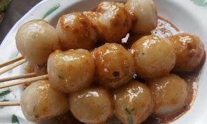 Resep Cilok Bumbu Kacang Asli Khas Bandung