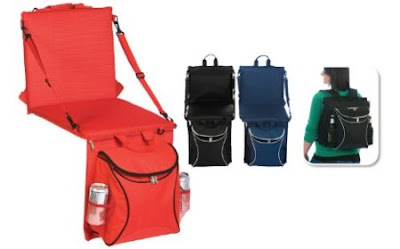 2-in-1 Seat and Cooler Backpack