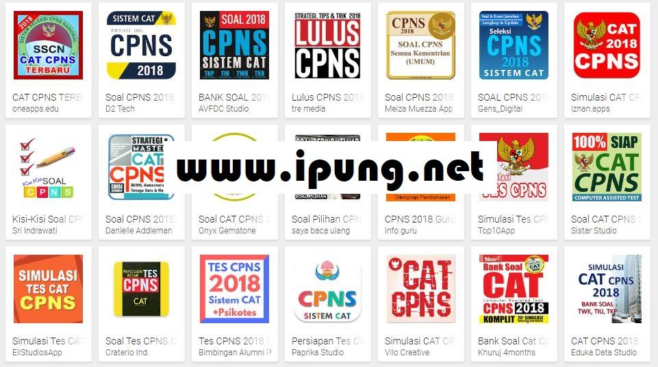 Kumpulan Aplikasi Soal CAT CPNS Lengkap untuk Android - Gratis