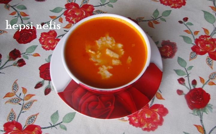 köz biber çorbası