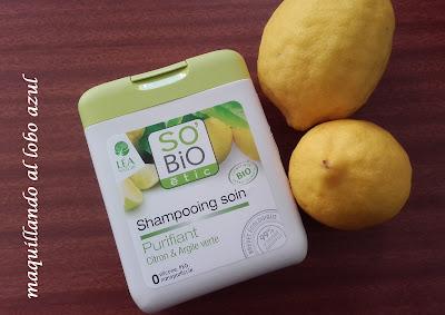 Champú Purificante de Limón y Arcilla verde de So Bio Étic
