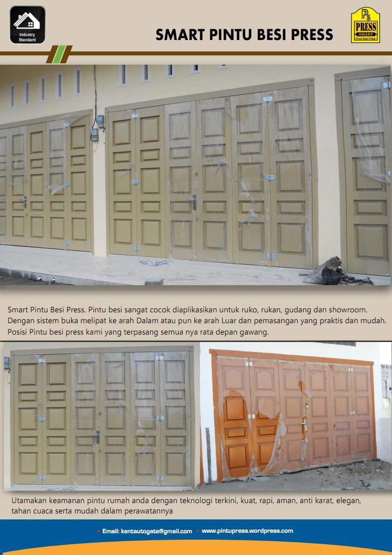 Kumpulan Gambar Pintu Rolling Sketsa