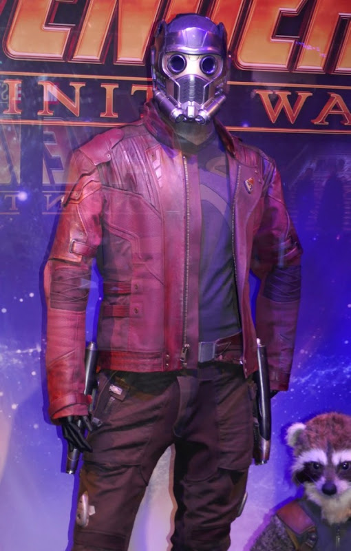 Avengers Infinity War Star-Lord movie costume