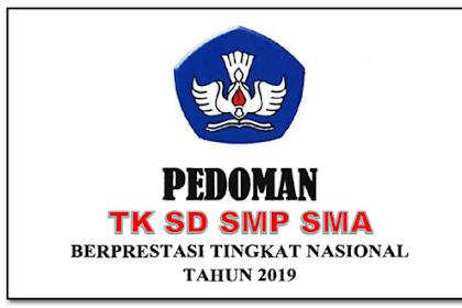 Unduh Pedoman Guru Prestasi 2019 TK SD SMA