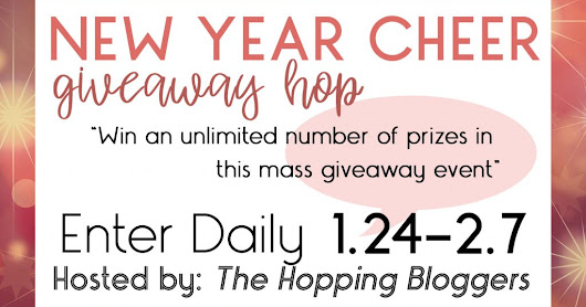 New Year Cheer #Giveaway Hop #THBhop