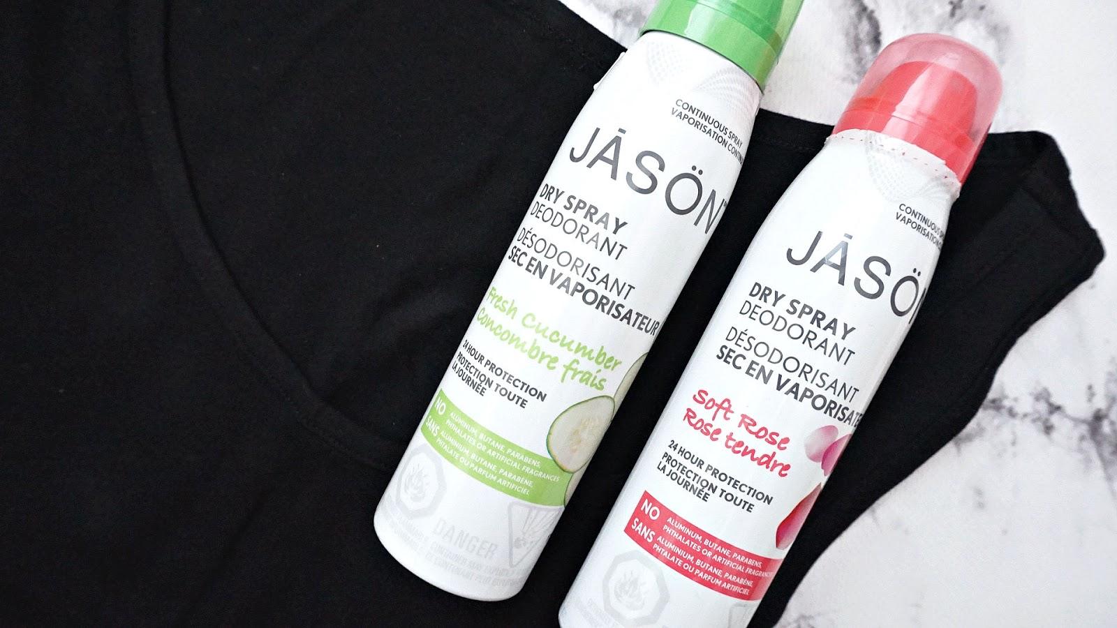 giveaway jason dry spray deodorant