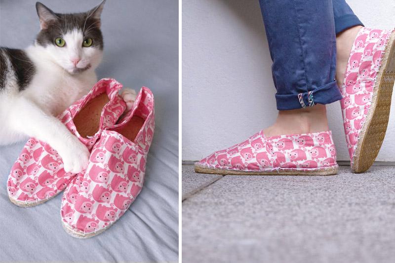 KuneCoco • DIY your closet • Espadrilles • Schuhe selbst nähen