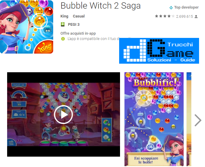 Soluzioni Bubble Witch Saga 2 livello 1171 1172 1173 1174 1175 1176 1177 1178 1179 1180 | Trucchi e  Walkthrough level