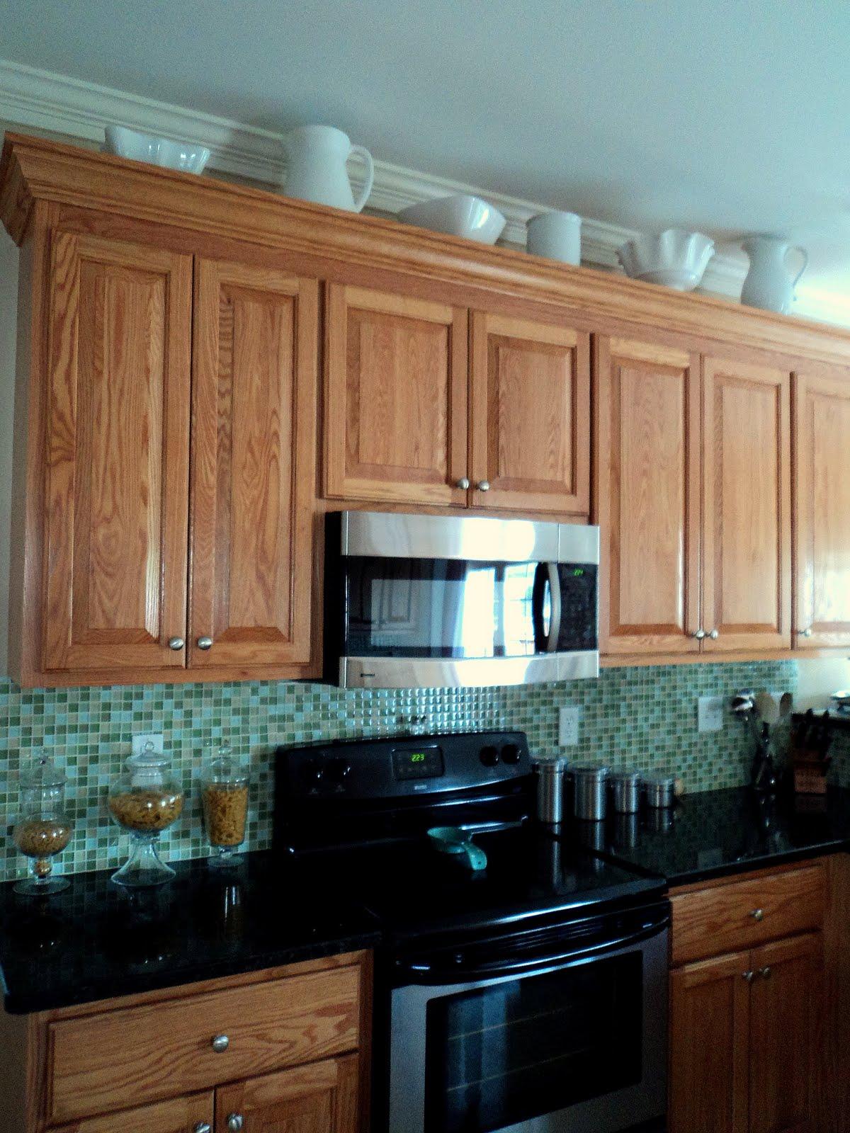 cabinet furniture richmond thrifter who has weird space above their kitchen