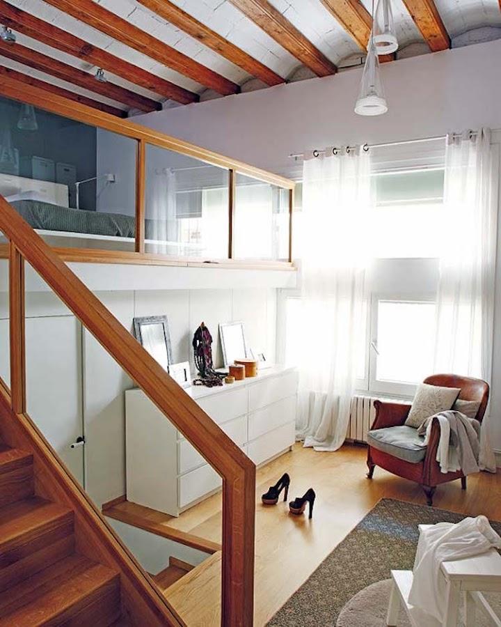 dormitorio tipo loft