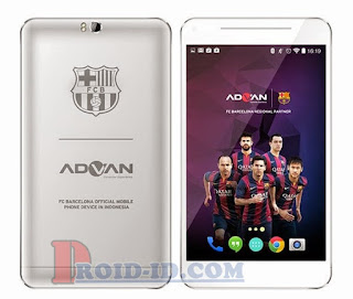 Cara Flash Advan T1X Barca