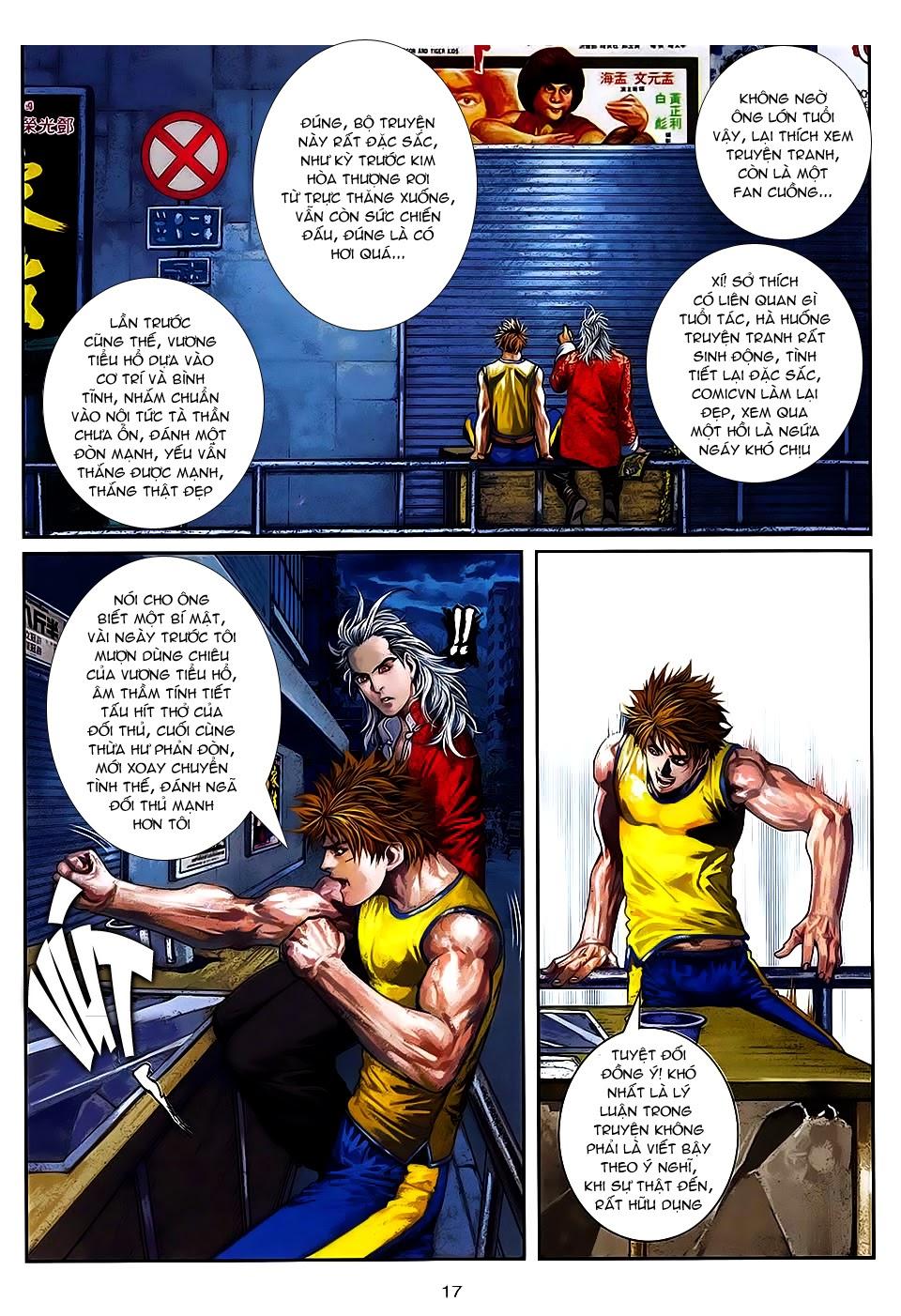 Quyền Đạo chapter 7 trang 16