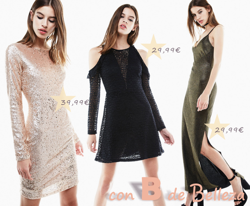 Bershka vestidos fiesta