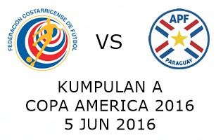 Costa Rica Vs Paraguay 5 Jun 2016