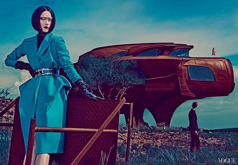 Steven Klein's Futuristic Fashion Editorial For Vogue