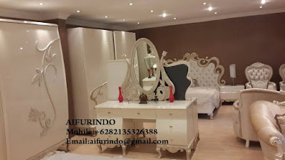 Indonesia Furniture Exporter Duco White Bedroom Furniture,French Provincial Furniture Indonesia code A116