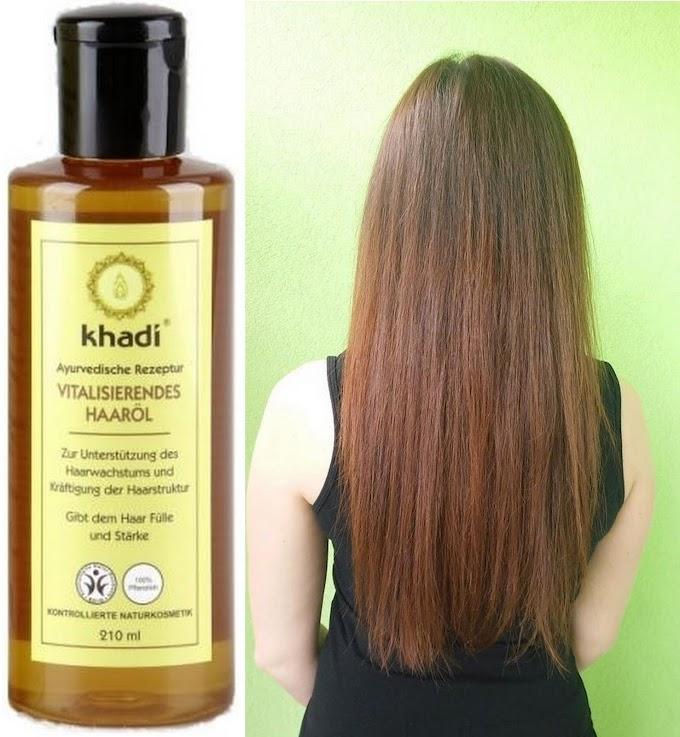 KHADI olejek stymulujący wzrost włosów - moja opinia