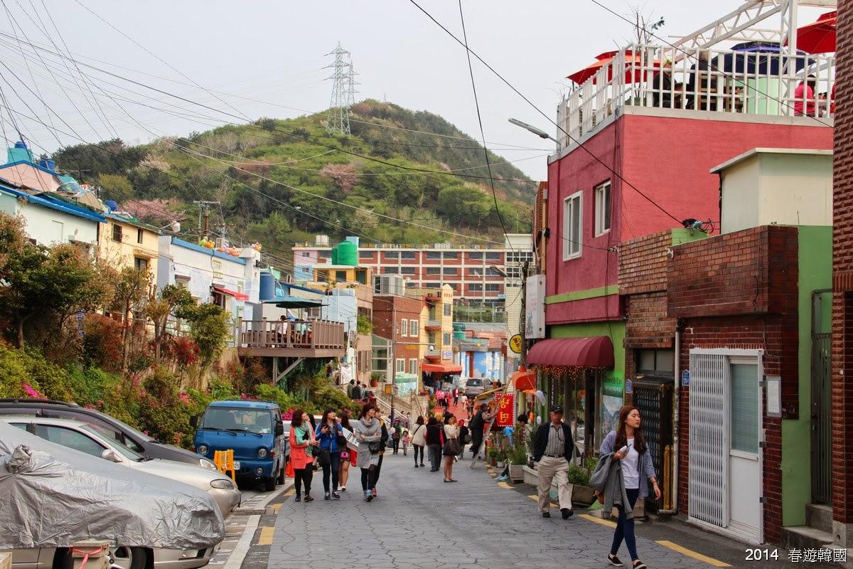 地球人愛漫遊: Day 10.2 甘川文化村,南浦洞海物天地海鮮鍋