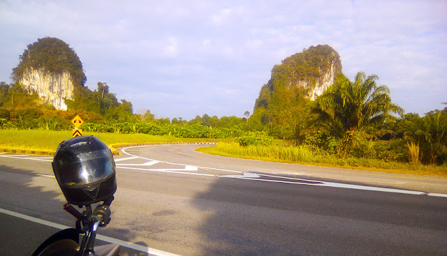 On the road in Surat Thani