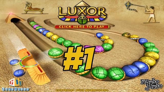 تحميل لعبة زوما الأصلية الأقصر Zuma Luxor Games مضغوطة كاملة من ميديا فاير