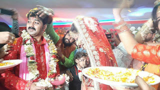 Pawan Singh and Jyoti Singh Marriage Picture