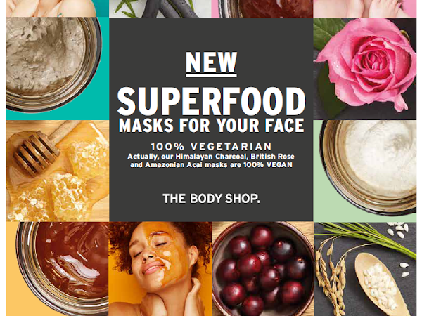 New Superfood Masks For Your Face from The Body Shop