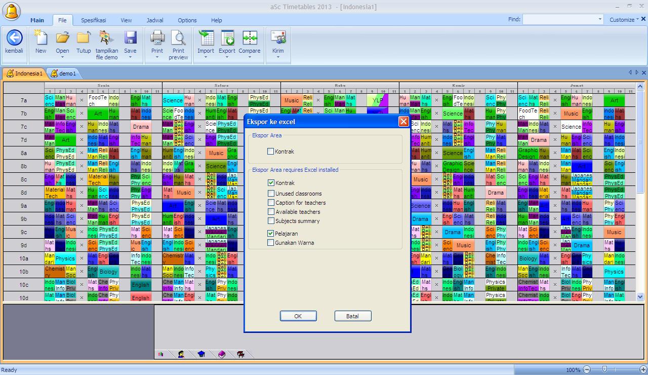 crack for asc timetables 2013 - ES