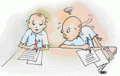 Ujian,..jangan menyontek
