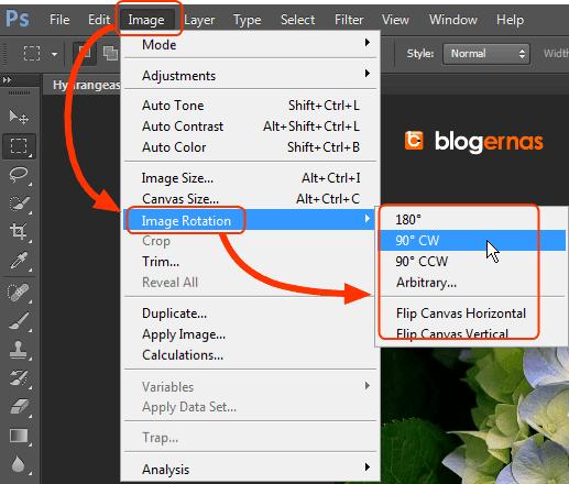 Cara Memutar Foto dengan Adobe Photoshop