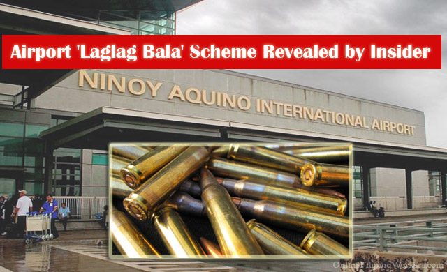 Airport 'Laglag Bala' Scheme Revealed by Insider
