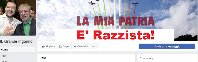 facebook_il grande inganno_un_dittatore_razzista_leghista_