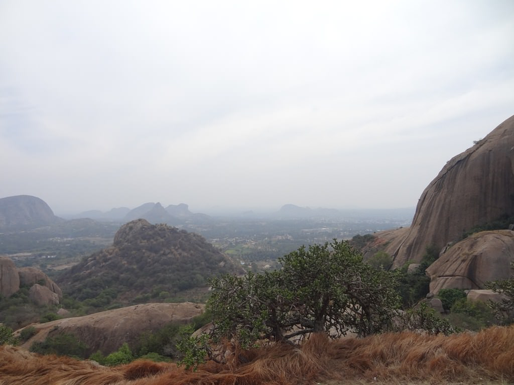 one day trekking near Bangalore - Ramadevarabetta