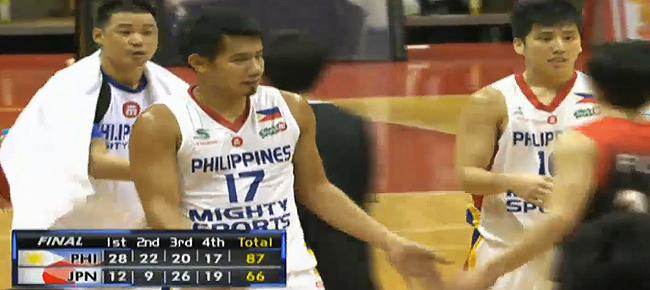Mighty Sports Pilipinas def. Japan, 87-66 (REPLAY VIDEO) Jones Cup 2016