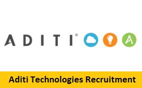 Aditi Technologies Recruitment 2017-2018