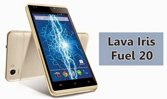 LavaIris Fuel 20: 5 inch,1.3GHz dual-core Android Phone Specs, Price