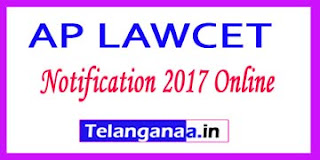 AP LAWCET Notification 2017 Online Application