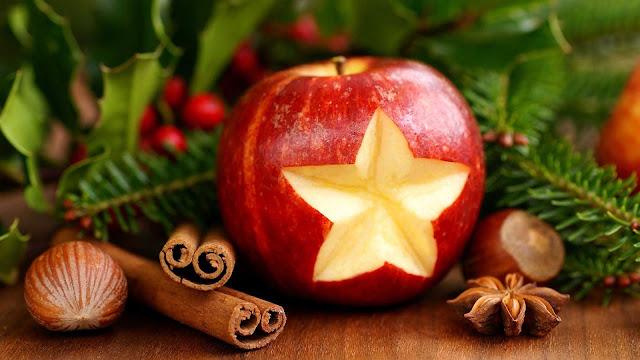 gambar buah apel merah